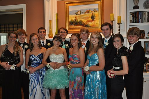Modern Day Pre-Prom Seniors, Apr 2012