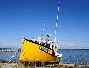 Deutsch: Boot in Nova Scotia
