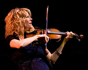 English: Natalie MacMaster performs at Edmonds...