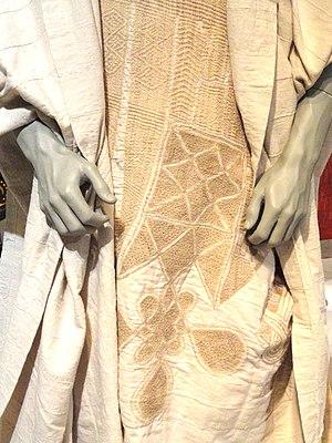 Exhibit in Bunka Gakuen Costume Museum, 3-22-7...
