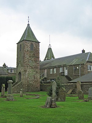 English: Old Church Tower, Auchterarder. Town'...