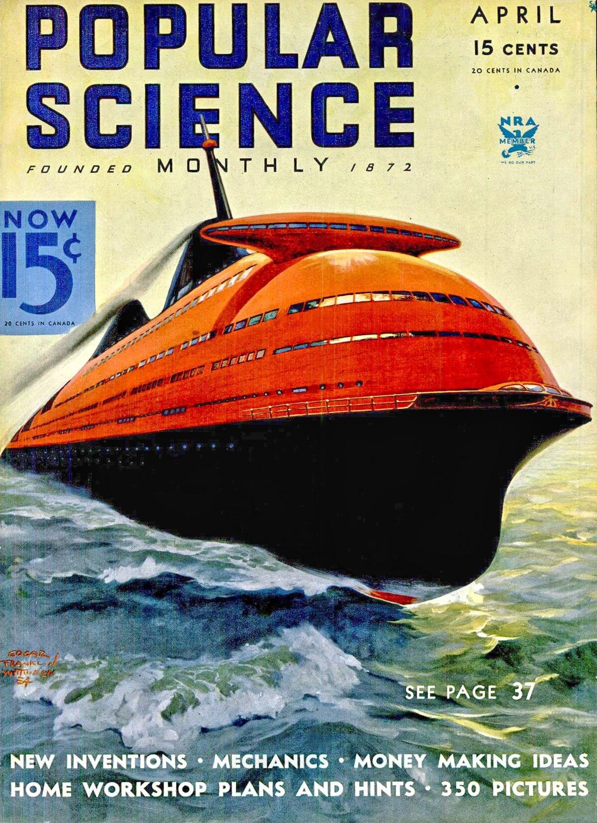 Streamlined Ocean Liner  Wikipedia