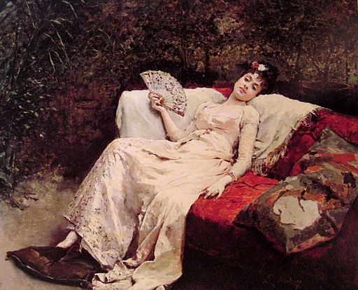 Raimundo Madrazo - Reclining Lady