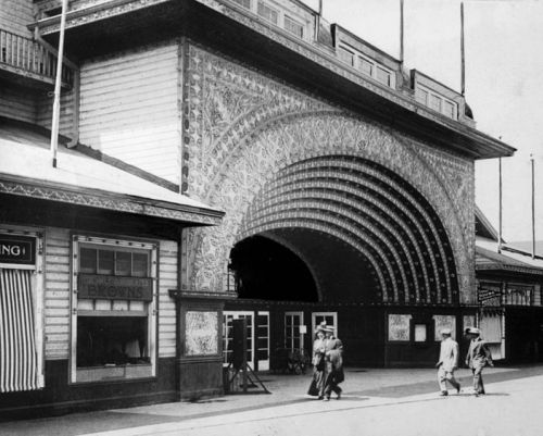 Danspalatset på nöjespiren, innan 1920