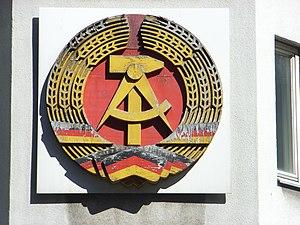 Deutsch: Dieses Bild zeigt das Staatswappen de...