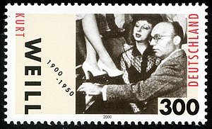 English: Stamp from Deutsche Post AG from 2000...
