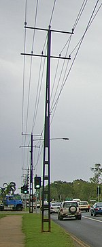 telephone pole diagram robus room stat wiring utility wikipedia steel in darwin australia