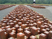 Each single stone represents a single person that had stayed at Westerbork and died in a Nazi camp
