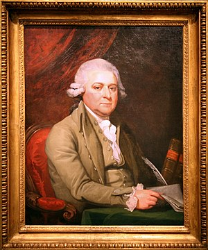 John Adams, ca.1788, by Mather Brown.