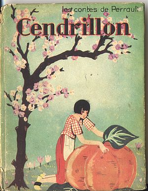 English: Cendrillon story