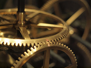 English: Clockwork at the Liverpool World Museum
