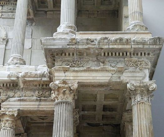 Detail of the Market Gate of Miletus, Pergamon Museum Berlin (8405352160)