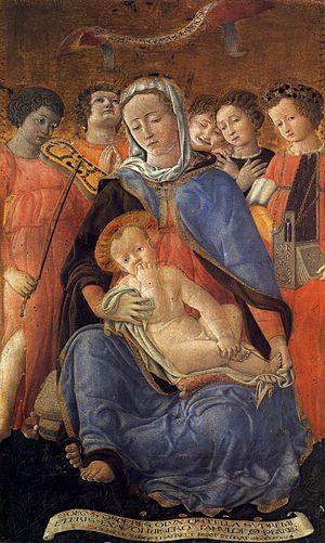Domenico di Bartolo - Madonna of Humility - WG...