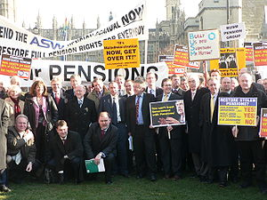 Dr Ros Altmann, pensions campaigner, with pens...