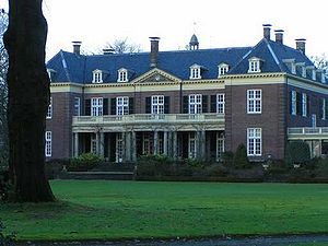 Mansion near Almelo, The Netherlands. Image ta...