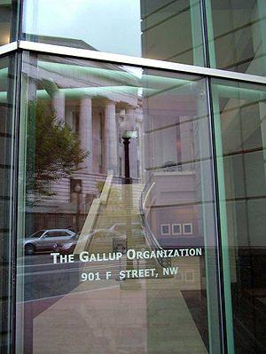 The Gallup Organization office in Washington, ...
