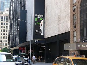 George Gershwin Theatre, showing the musical W...