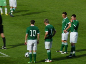English: Ireland v Algeria