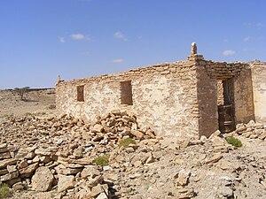 Ruins of Qa'ableh, Somalia.