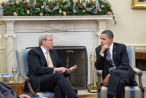 President Barack Obama meets Prime Minister Ke...