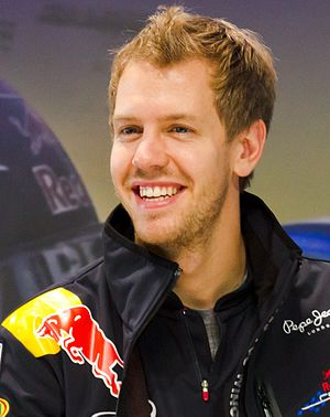 Sebastian Vettel (Red Bull) at Nissan Global H...
