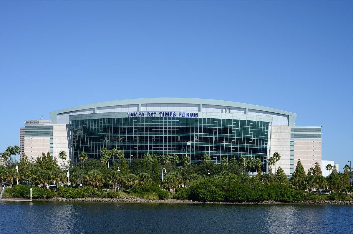 Amalie Arena  Wikipedia