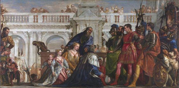The Family of Darius before Alexander by Paolo Veronese 1570