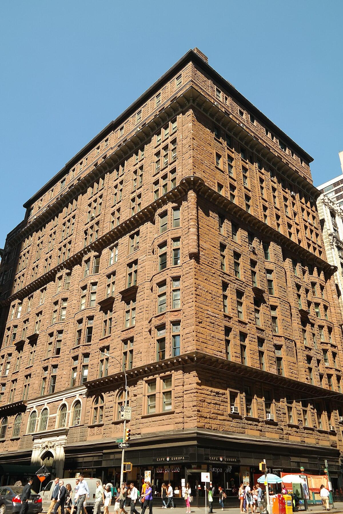City Apartment Building Entrance