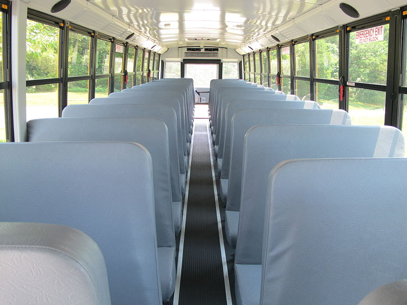 School Bus interior Wikipedia