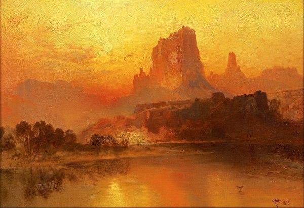 Famous Thomas Moran Paintings