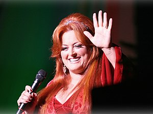 Wynonna is welcomed with warm applause as she ...
