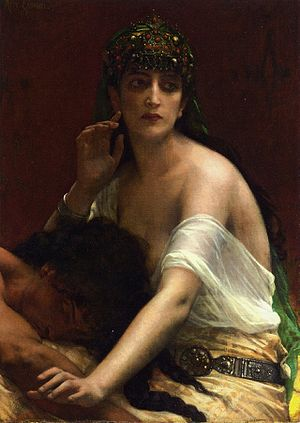 Français : Samson et Dalila par Alexandre Cabanel