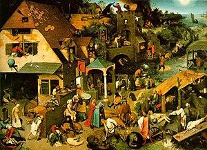Bruegel Proverbs