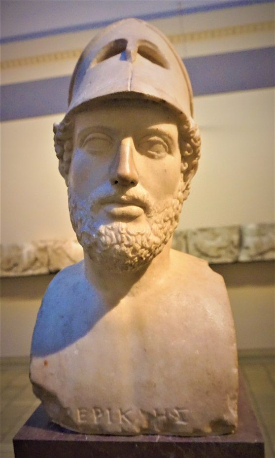 Bust of Pericles - British Museum - Joy of Museums 2