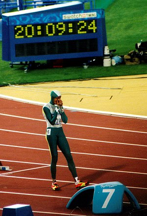 Cathy Freeman olympic final 400m Sydney 2000