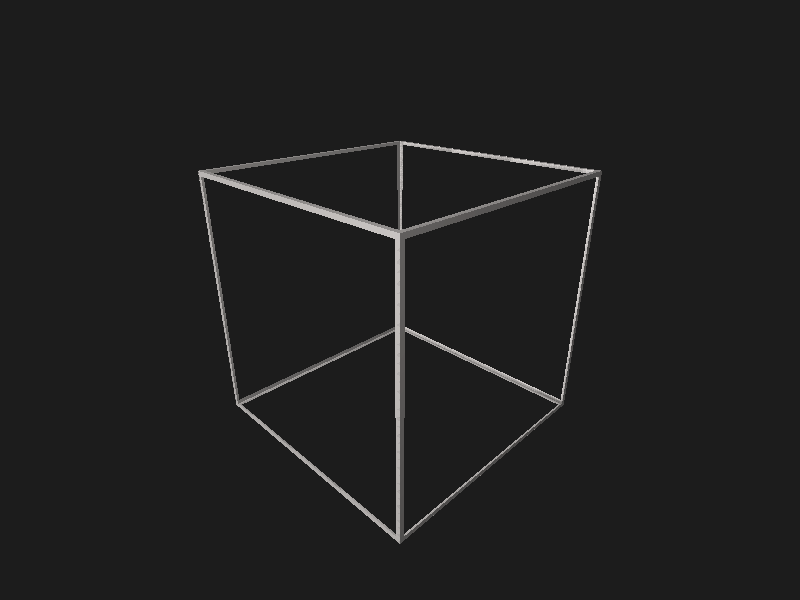 file cube wireframe stl