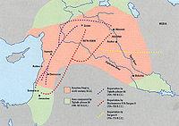 Deportaciones de los judios durante el Imperio Asirio.