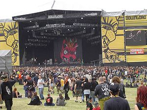 Main stage at Download festival, 2005. Photo b...