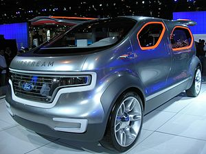 "The Ford ""Airstream"" Concept at theC..."