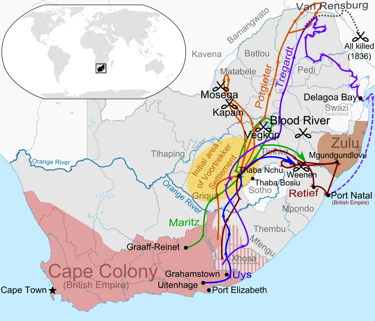 Trade Map 1750 Routes