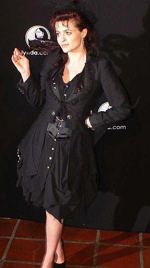 Actress Helena Bonham Carter at 26th Santa Bar...