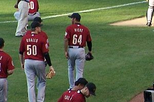 Fernando Nieve with the Houston Astros.