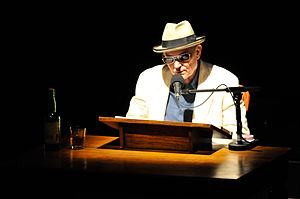 NPR's Joe Frank in rehearsal and production fo...