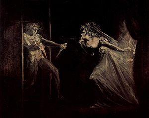 Lady Macbeth receives the daggers