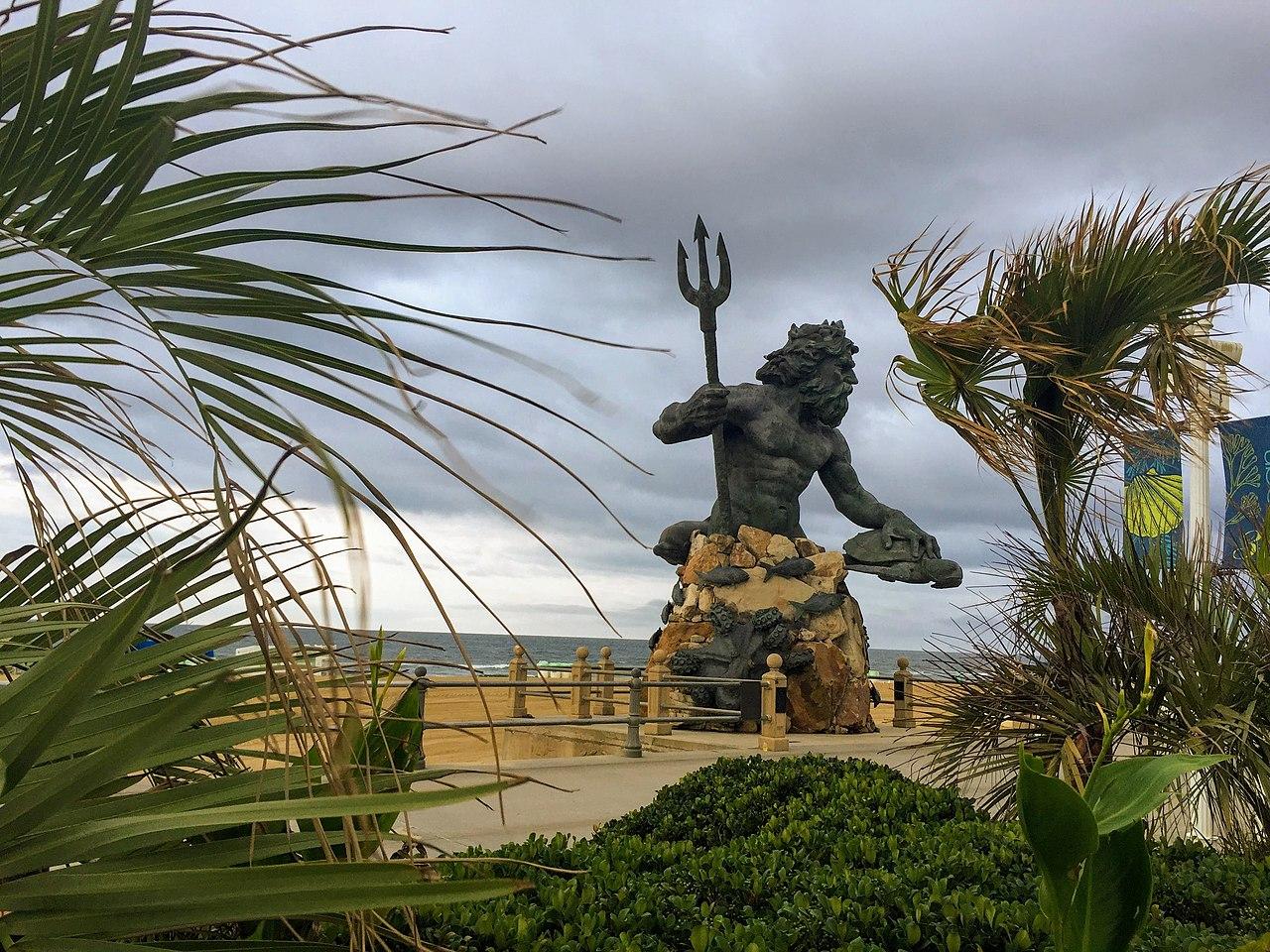 File King Neptune Virginia Beach Jpg Wikimedia Commons