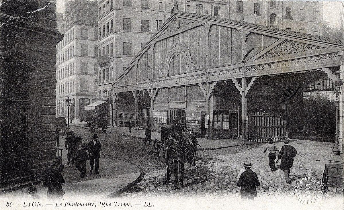 Funiculaire de la rue Terme  Wikipdia