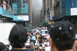 Smoke and steam in New York.