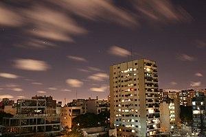 English: Night City view
