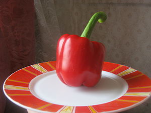 English: Bell pepper