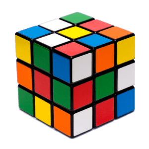 A Rubik cube, it is based on this one but the ...